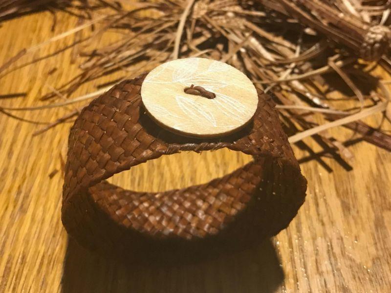 Woven Cedar Bracelet